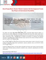 Heat pump water heater market analysis by development trend, key players & investment feasibility