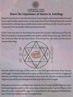 Know the Importance of Saturn in Astrology