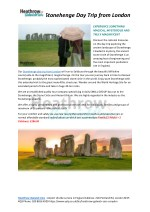 Best Tour of Stonehenge Day Trip From London UK