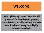 Best Skin whitening Cream