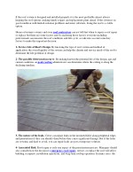 Top Factor To Decide Roof Repair, Recover and Replace Decision
