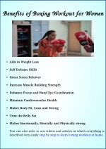 Benefits of Boxing Workout for Women