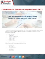 China Iohexol Industry  Research Report 2017