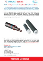 Power Cable Accessories Suppliers & Manufacturers India
