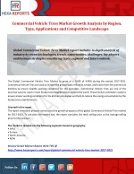 Commercial Vehicle Tires Market Growth Analysis by Region, Type, Applications and Competitive Landscape