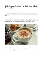 Why Coffee Is the World's Favourite Drink