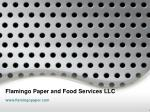 Custom Printed Coffee Cups & Napkins - Flamingo Paper and Food Services LLC
