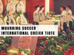 Mourning soccer international Cheick Tiote