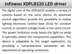 Infineon XDPL8220 LED driver IC