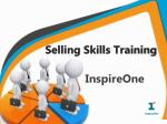 Selling Skills Training - InspireOne
