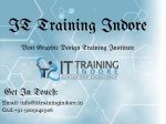 Graphic Design Training Institute Indore – IT Training Indore