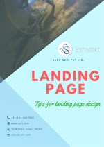 Give a fresh look to your landing page