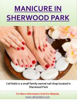Pedicure in Sherwood Park