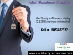 New Residential Apartments in Ahmedabad Call at 9873482672