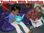 Teaching with Intention - Carlisle 08/18