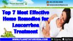 Top 7 Most Effective Home Remedies for Leucorrhea Treatment