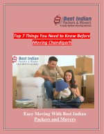 Top 7 Things You Need to Know Before Moving Chandigarh
