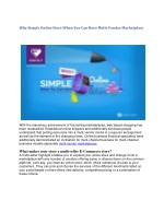 Why Simple Online Store When You Can Have Multi-Vendor Marketplace
