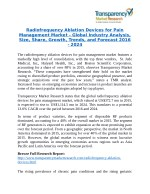 Radiofrequency Ablation Devices for Pain Management Market Research Report Forecast to 2024