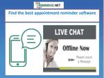 Get the best SMS Reminder Software