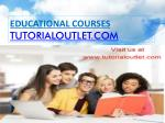 Provide financial analysis for a start/tutorialoutlet