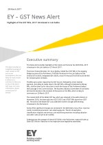 GST News Alert - Highlights of the GST Bills | EY INDIA