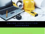 Online Construction Software