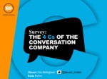 The 4C's of the Conversation Company