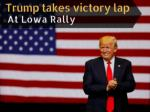 Donald Trump Rally in Cedar Rapids, Iowa