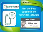 Search the best SMS Reminder Software