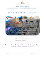 How to Ethically Boost Your Ecommerce Store Sales?