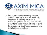 High Quality Mica Washers suppliers| Axim Mica