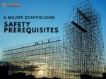 A Presentation on Scaffolding Safety Tips By Turbo Scaffolding Perth