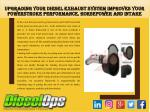 Upgrading Your Diesel Exhaust System Improves Your Powerstroke Performance, Horsepower and intake