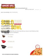 Build Your Own Bowl Restaurant - Genghis Grill