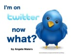I'm on Twitter, Now What?