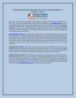 Antriksh Group: Spreading Smiles by Constructing Affordable yet Luxurious Homes