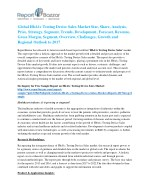 Latest Research report on HbA1c Testing Device Sales Market predicts favorable growth and forecast to 2017