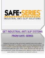 SAFE-SERIES: Contact for the Best Anti-Slip FRP Solutions