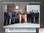 Why should you study Post Graduate Diploma (PGDM) in Human Resource Management?