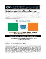 Study Abroad Consultants for Ireland | Study Smart