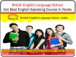 Get Best English Speaking Course In Noida - BELS India