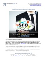 The benefits of Search Engine Optimization