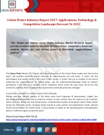 Cotton Picker Industry Report 2017: Applications, Technology & Competitive Landscape,Forecast To 2022