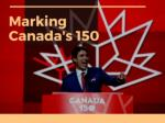 Marking Canada 150 in central Alberta