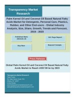 Palm Kernel Oil and Coconut Oil Based Natural Fatty Acids Market Key Trends, Share, Growth and Industry Analysis 2015 –
