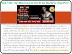 Real Nitro : Gain Massive Muscle Growth within Weeks!