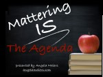 Mattering IS the Agenda - Presentation at #NSBAConf