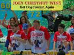 Nathan's Hot Dog Eating Contest: Joey Chestnut Wins Again