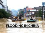 Deadly Floods Hit Southern China